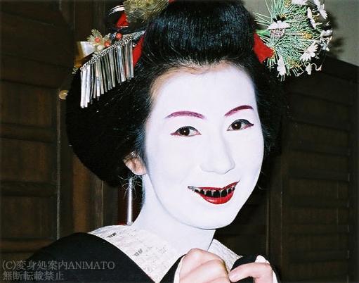 японки с черными