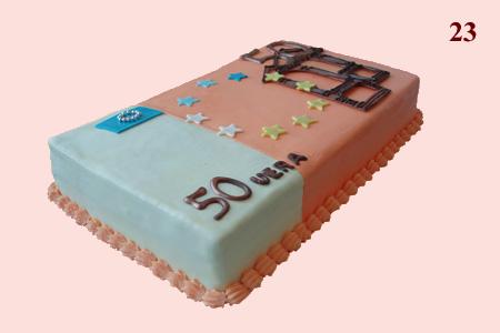 Торт из мастики на год своими руками